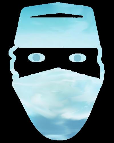 OP-Maske Symbol