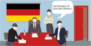 Les allemands pensent que les français ne sont pas sérieux